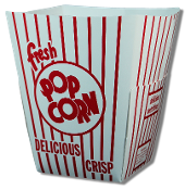 Popcorn Party Tubs (50 case)